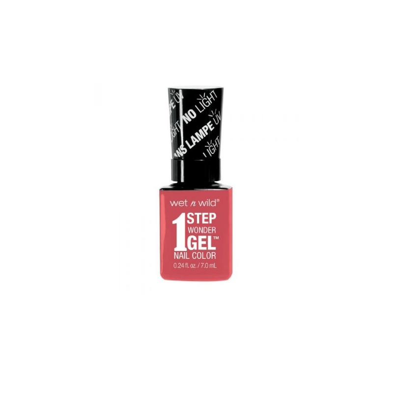 1 Step Wonder Gel Nail Color Coral Support