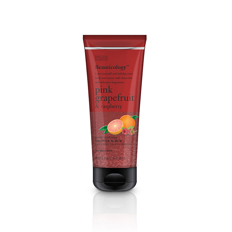 Baylis & Harding Beau Pink Grapefruit & Raspberry 250ml Shower Scrub