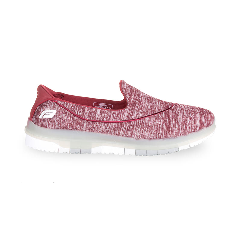 Farabona Fitwalk Atheletic Leisure Slip On Pink