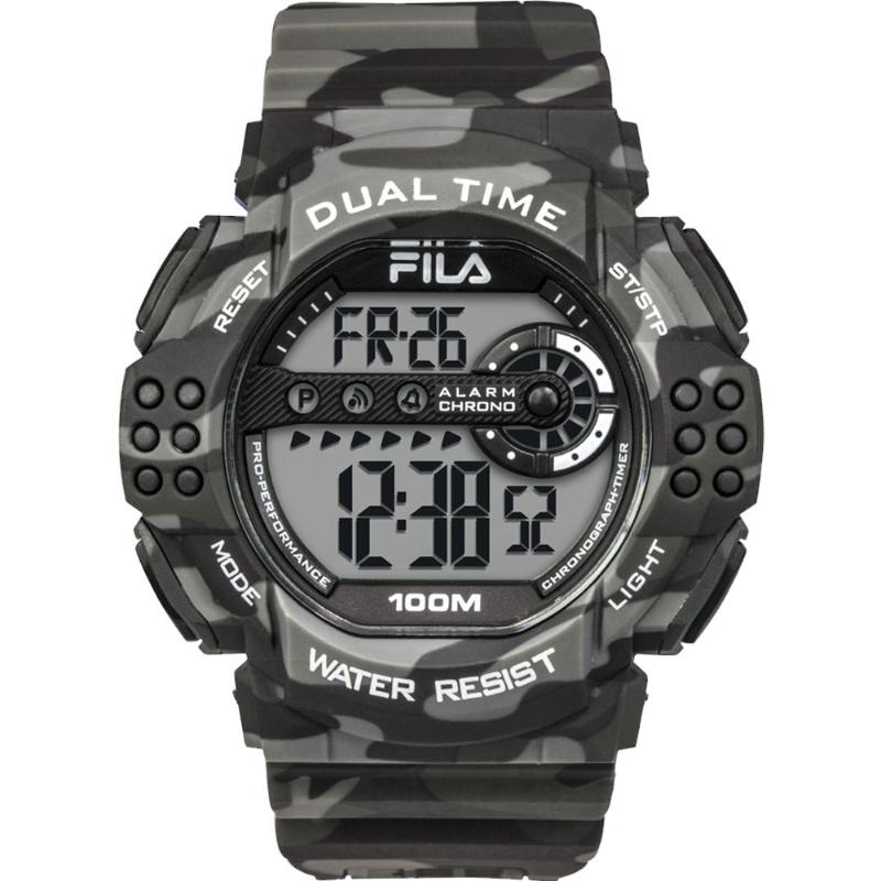 Fila Watch 38-171-002 Mens Watch Black Army