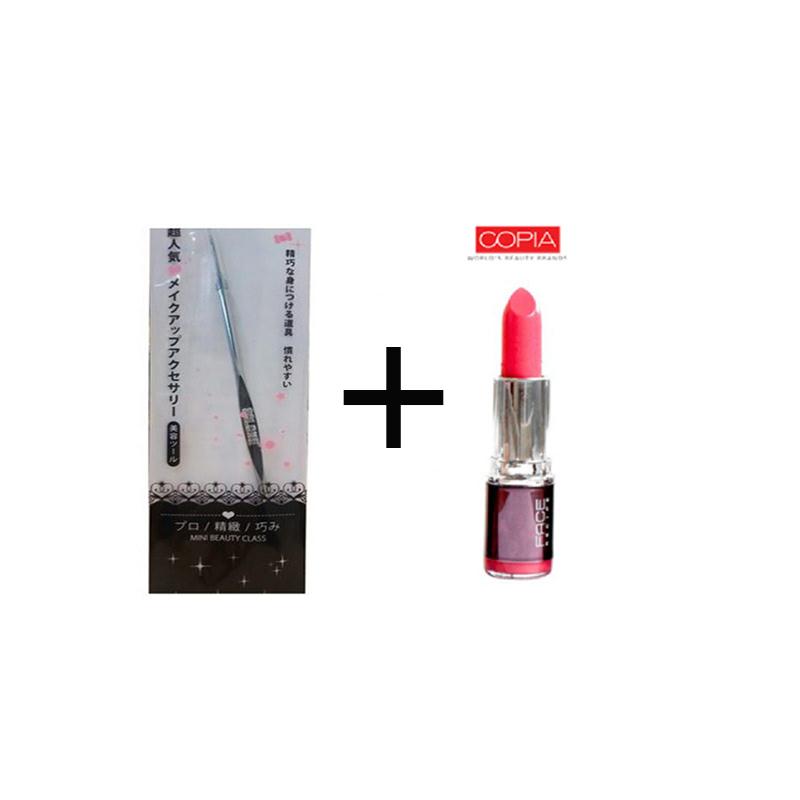 Beaute Recipe Acne Stick 1073-4 + Be Matte Lipstick Hotpink