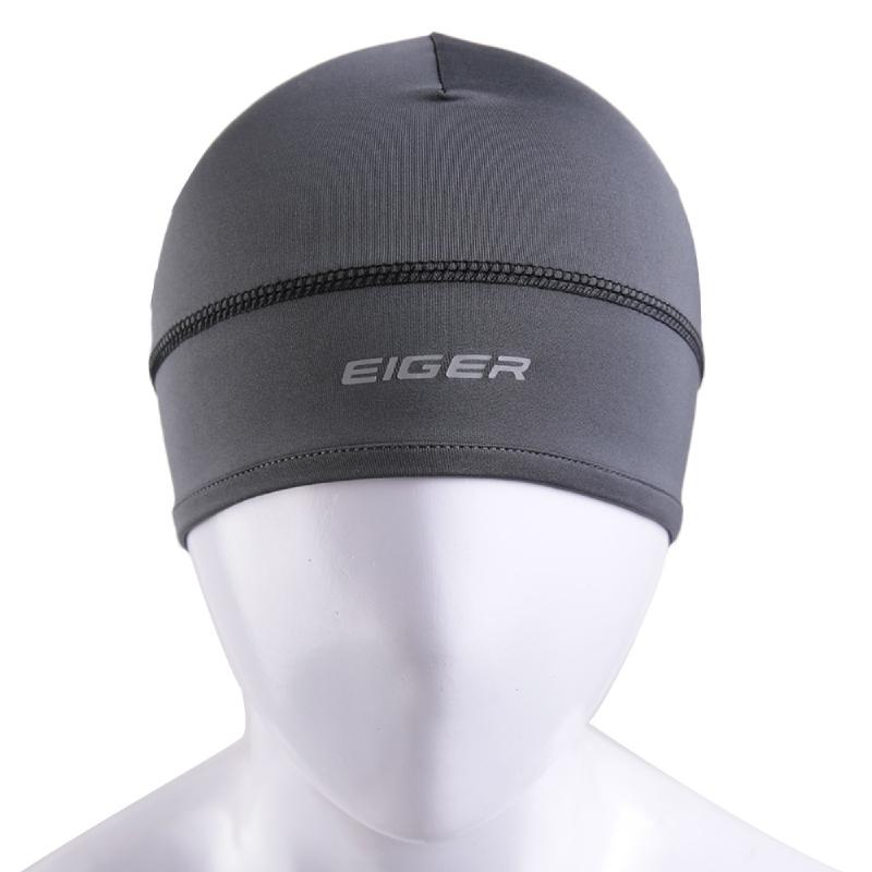 EIGER Riding Moto-Head Helmet Liner - Grey
