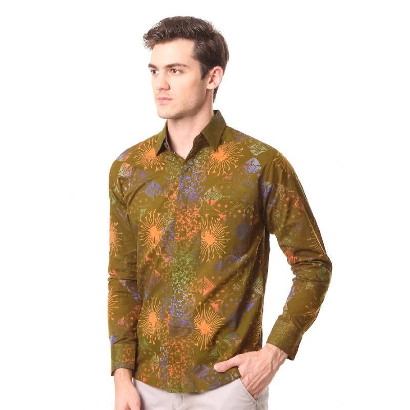 Agrapana Batik Lengan Panjang 105.02.854.05.Coklat