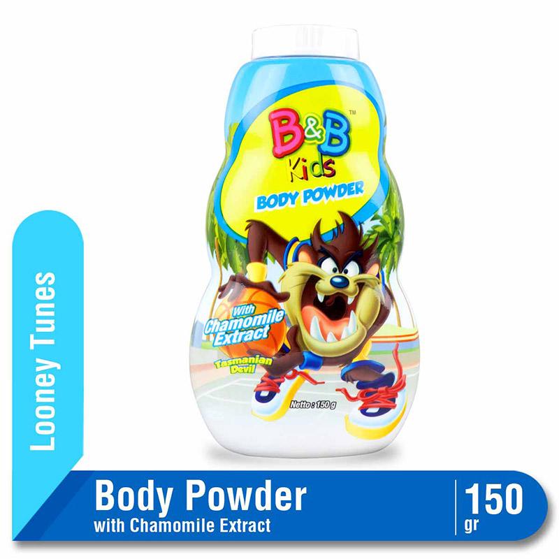 B&B Kids Body Powder Tasmanian 150 G