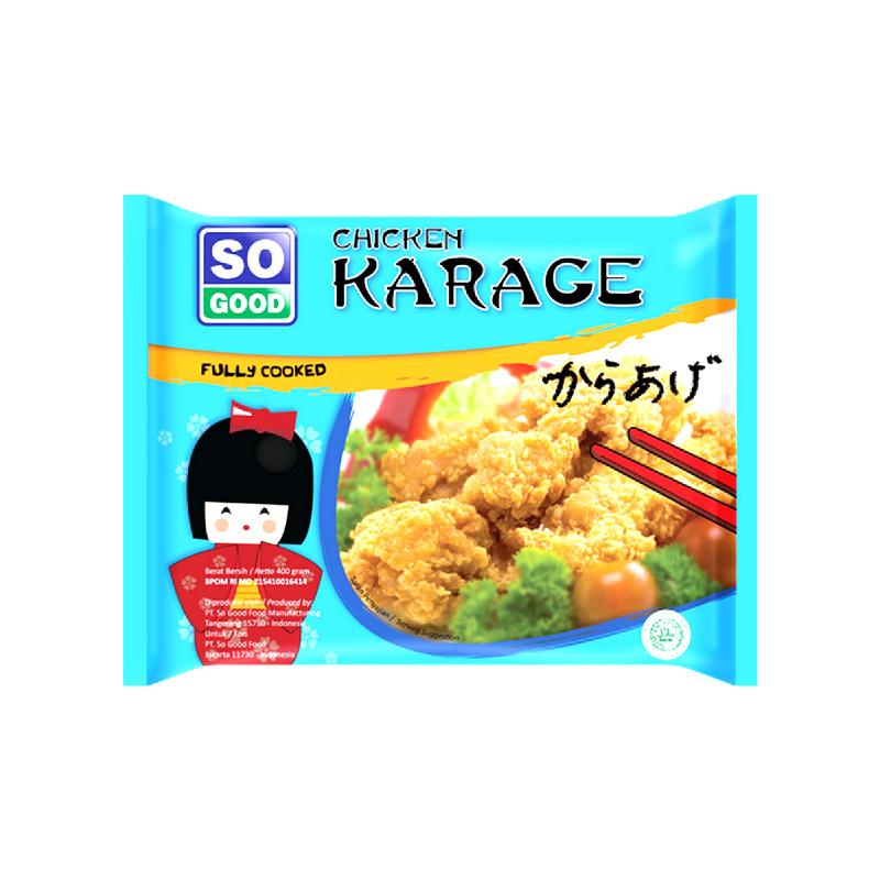 So Good Ayam Nugget Karage 400 Gr