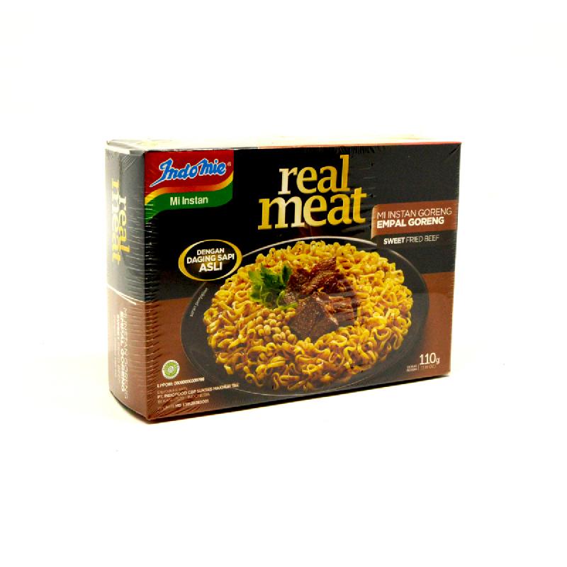 Indomie Real Meat Empal Goreng  110 Gr