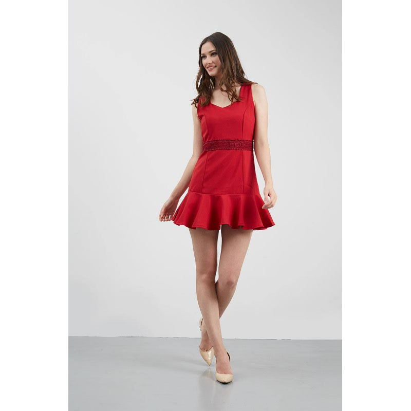 GW Gifhorn Dress in Red