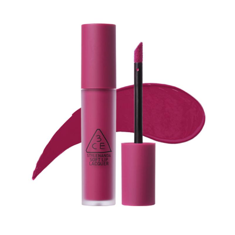 3CE Soft Lip Lacquer - Almost Mauv