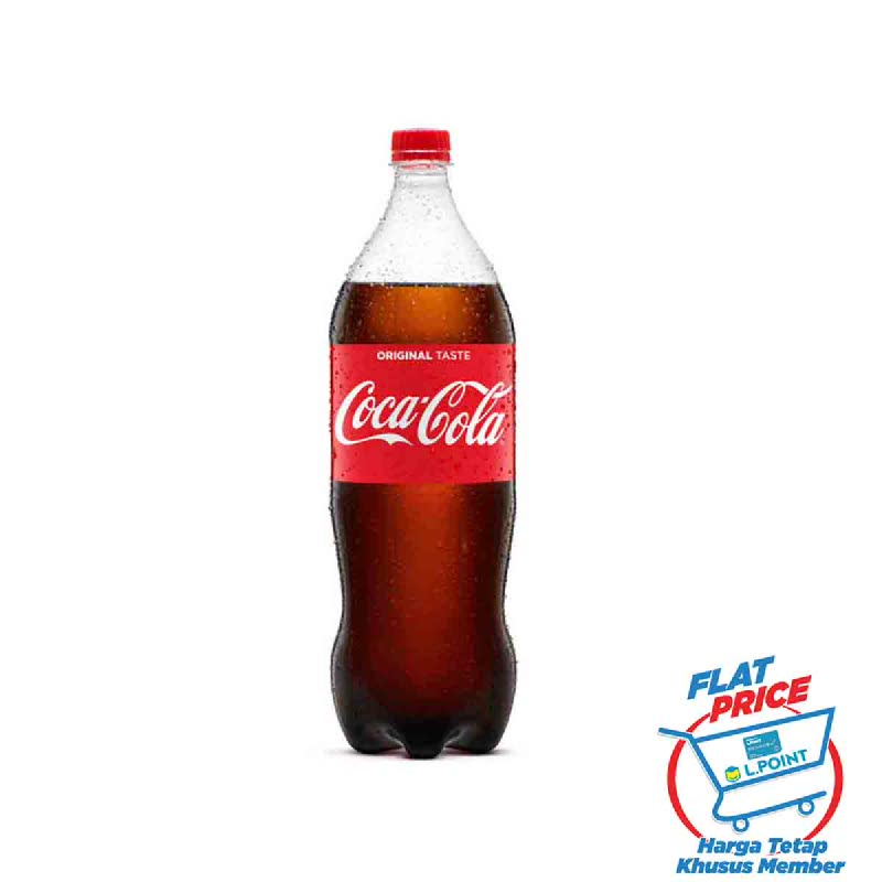 Coca Cola Botol 1500 Ml (Flat Price)