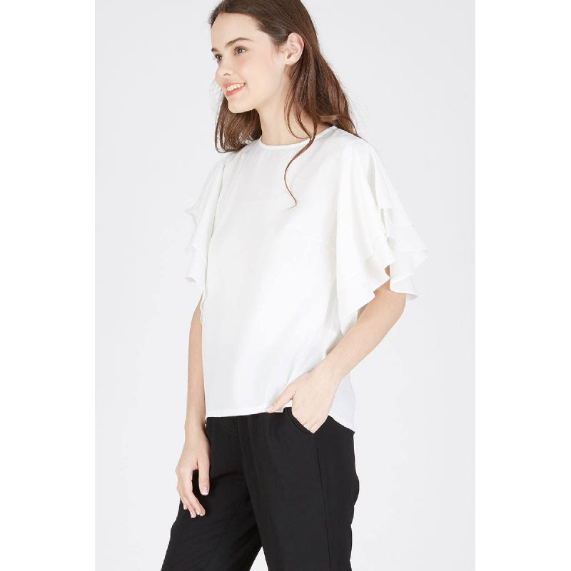 Meike Top White