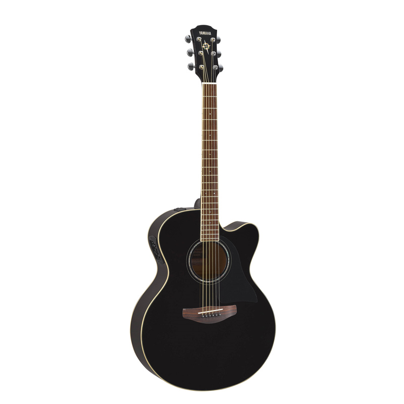 Yamaha Gitar Acoustic Electric CPX-600 BL Black