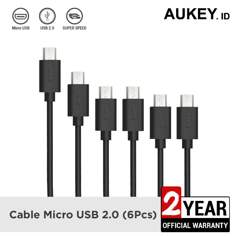 Aukey Cable Micro USB 2.0 (6Pcs) - 500334