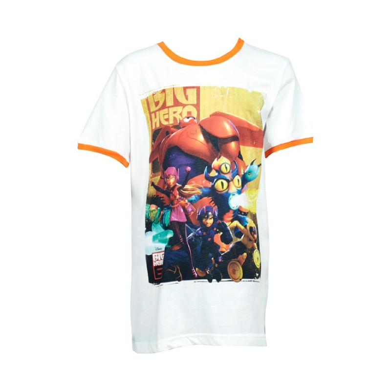Big Hero 6 BOYS T-Shirt Orange