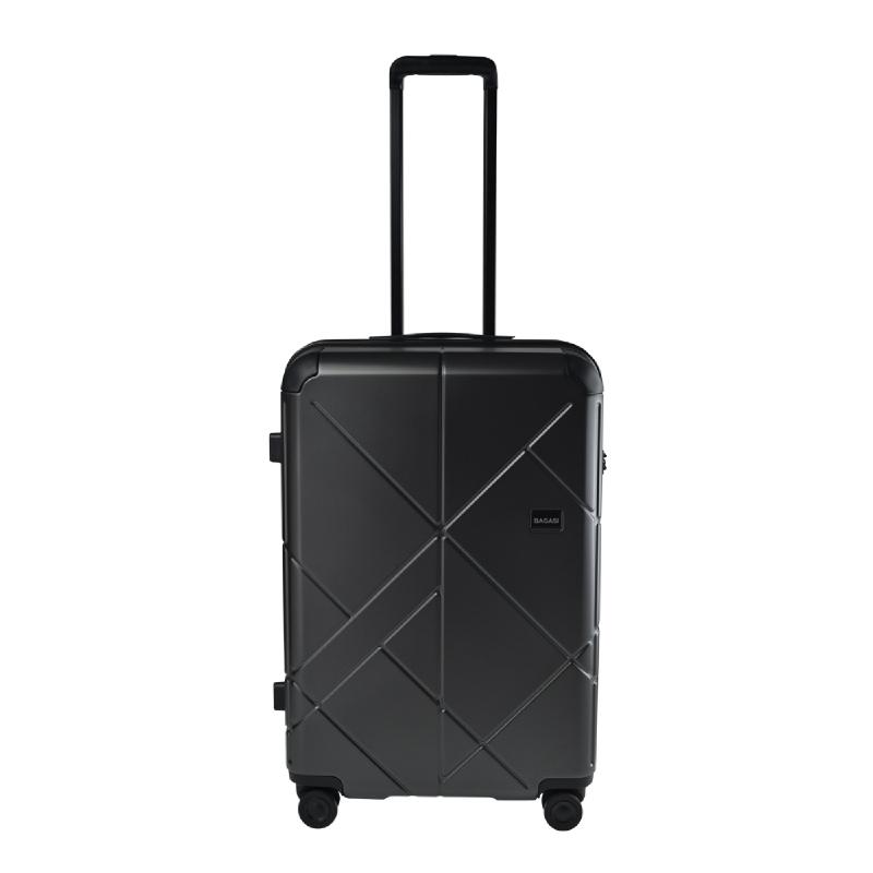 Bagasi Jasper Koper Hardcase Medium 26 Inch – Black