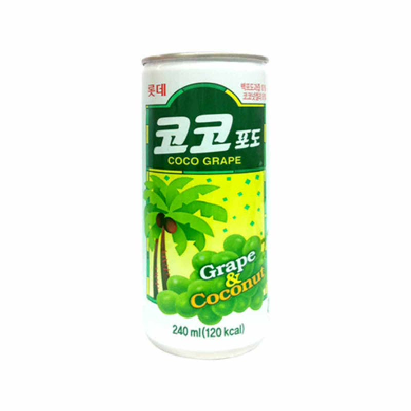 Lotte Coco Grape 240 Ml