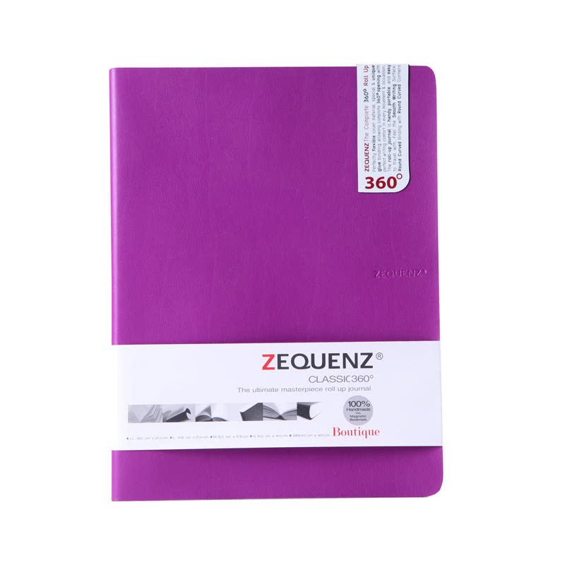 Highpoint Zequenze Notebook Boutique B5LL Lavender-100 Sheets, 70 GSMRuled