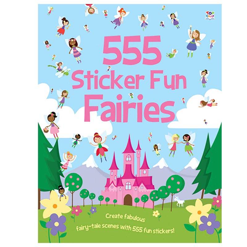 555 Sticker Fun Fairies