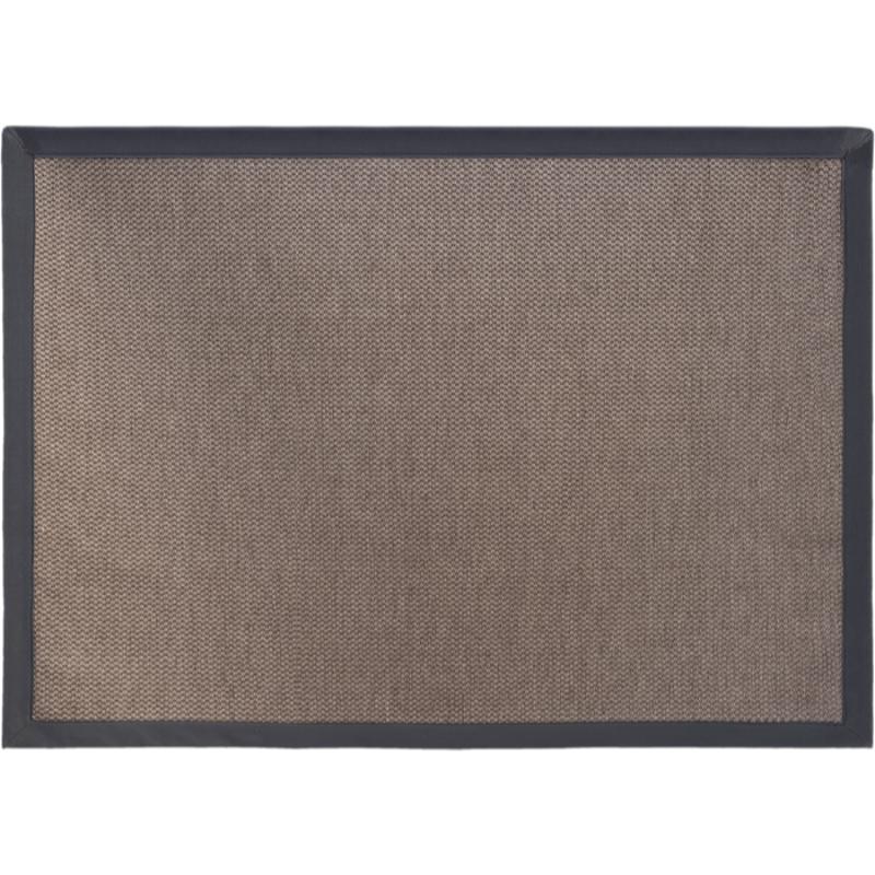 Karpet Sisal Cross Grey Anyaman