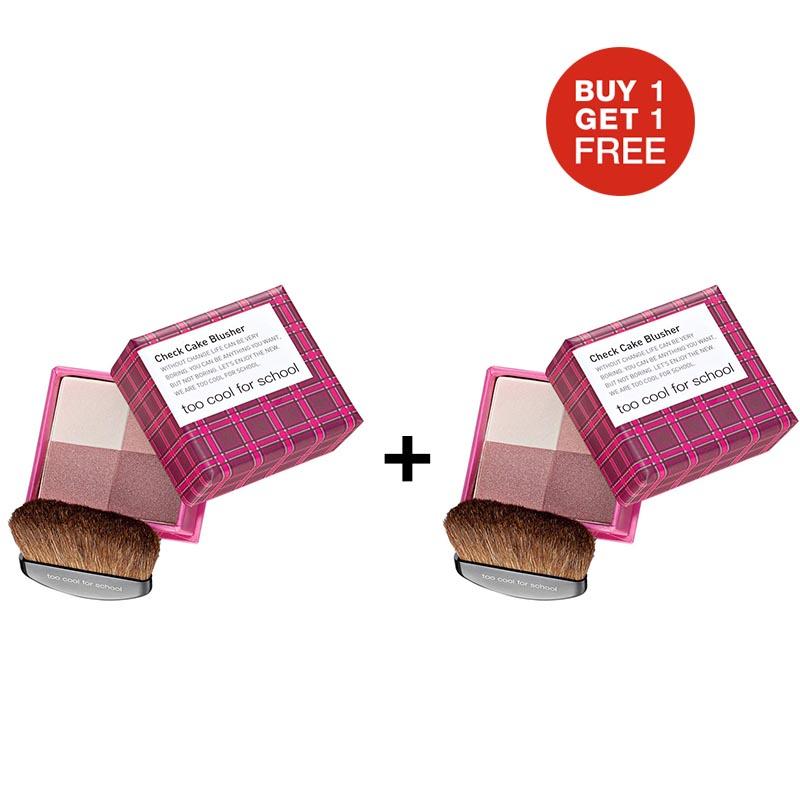 TCFS Buy 1 Get 1 Check Cake Blusher 1 Pink