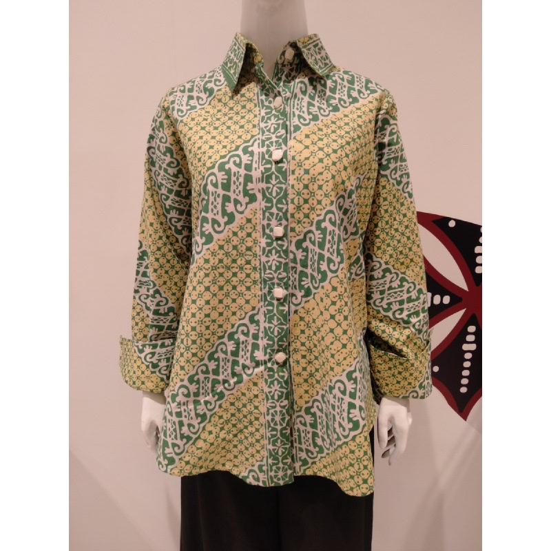 Astari Batik Shirt Green