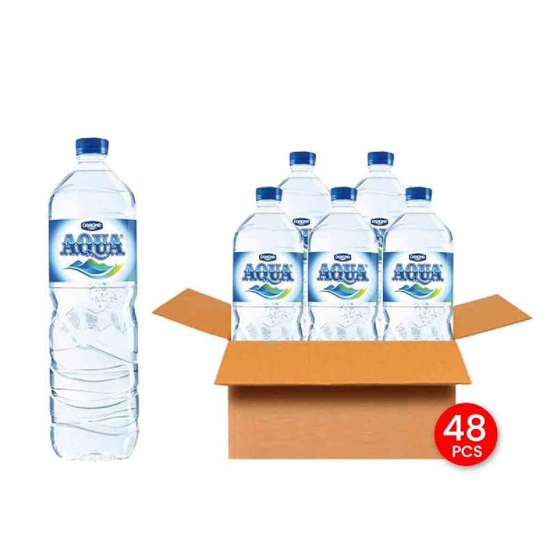 Aqua Mineral Water 1500 Ml (Get 48)