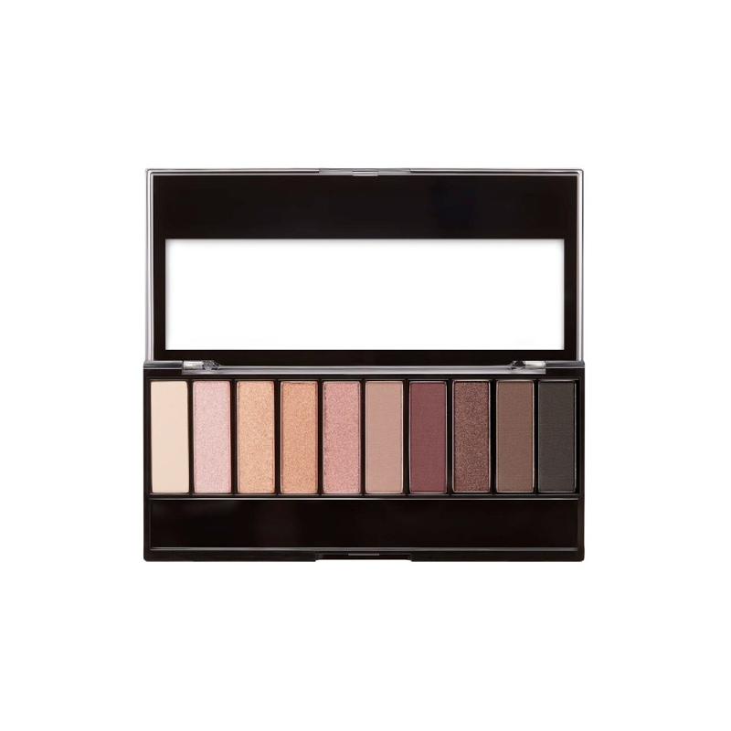 Color Icon Au Naturel 10-Pan Eyeshadow Palette Nude Awakening
