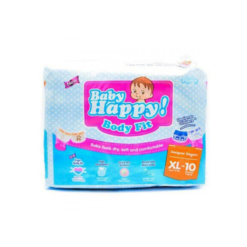 Baby Happy Popok Bayi Xl 10 Pcs