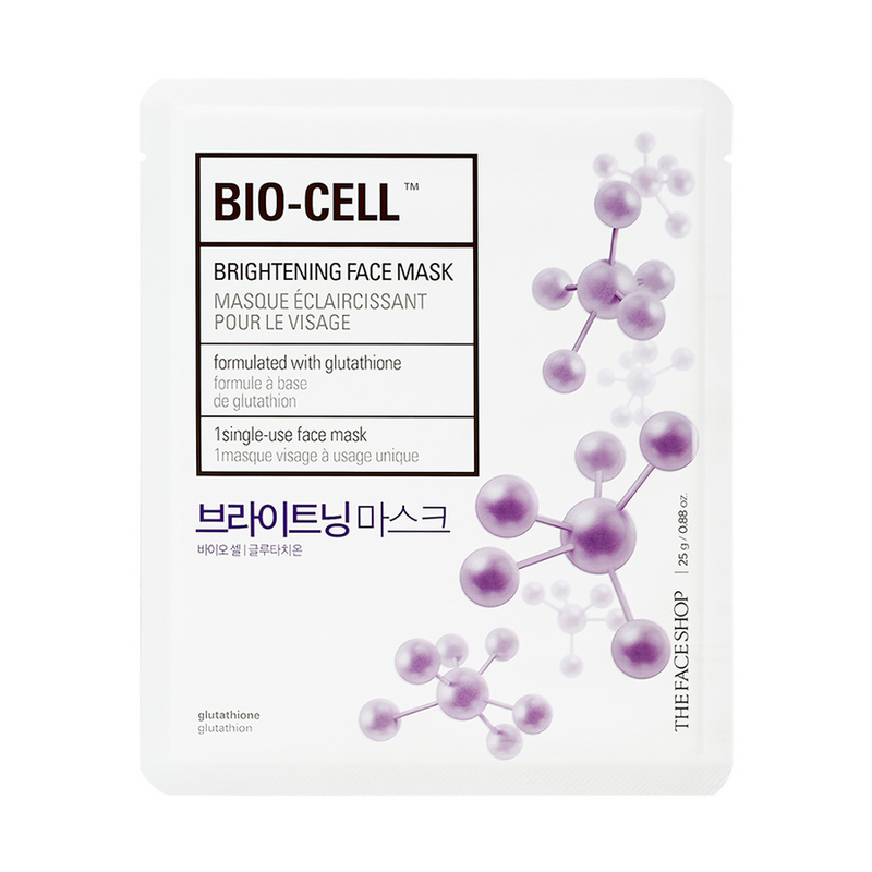 The Face Shop Bio-Cell Face Mask Brightening