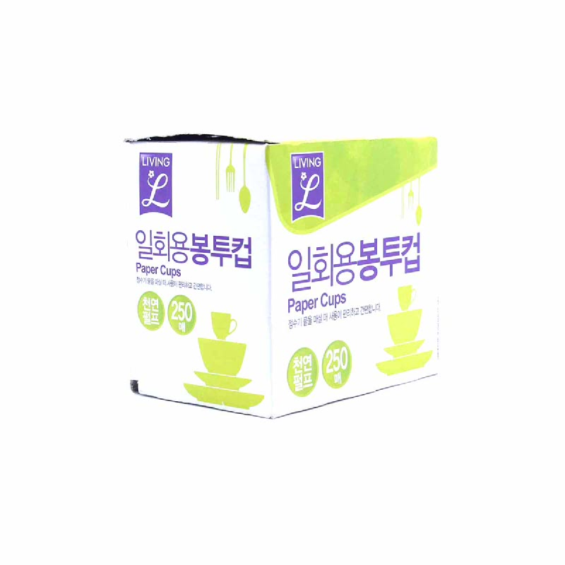 LIVING L DISPOSABLE SANITARY CUP 250SHEE