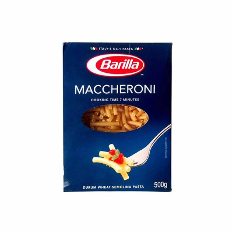 Barilla Macheroni 500 Gr