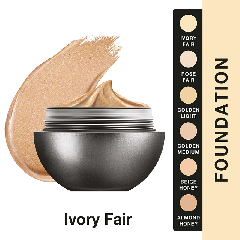 Lakme Absolute Reinvent Mattreal Skin Natural Mousse Foundation - Ivory Fair