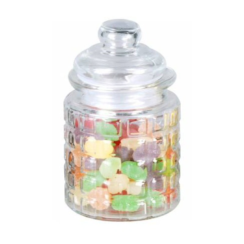 JYSK Glass Jar With Lid 14400003 D8Xh12Cm Clear