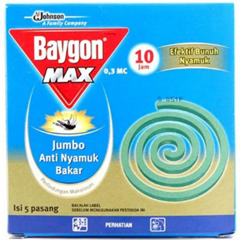 Baygon Bakar Jumbo Max 10Jam 5S