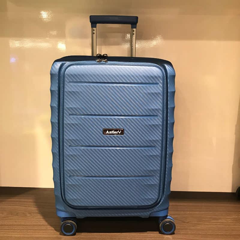 Antler A886468 Prado Medium Expandable Rollercase Blue
