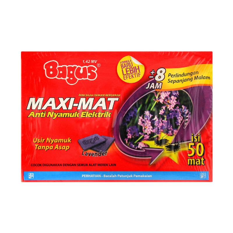 BAGUS MAXI MAT LAVENDER REFILL 50 S