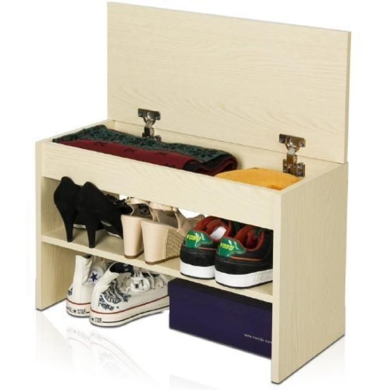 FUNIKA Rak Penyimpanan Sepatu - Coklat Muda 11079 SBE