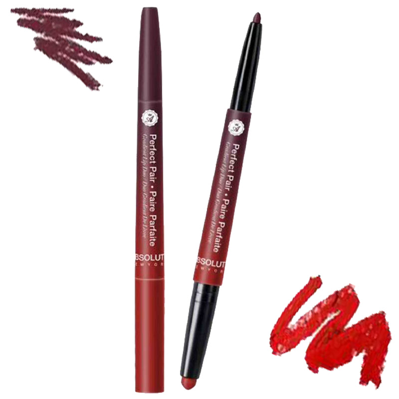Absolute New York Perfect Pair Duo Parfait Lip Duo Candied Apple