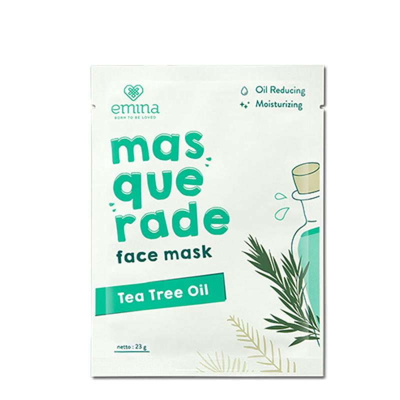 Emina Face Mask Tea Tree Oil 23 Gr