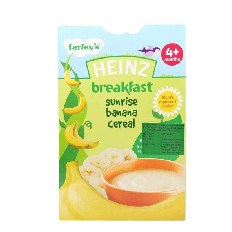 Heinz Breakfast Sunrise Banana Cereal 12