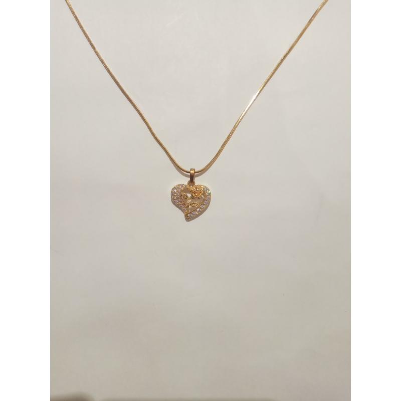 Ballin - Women Necklace FF N0104G Gold