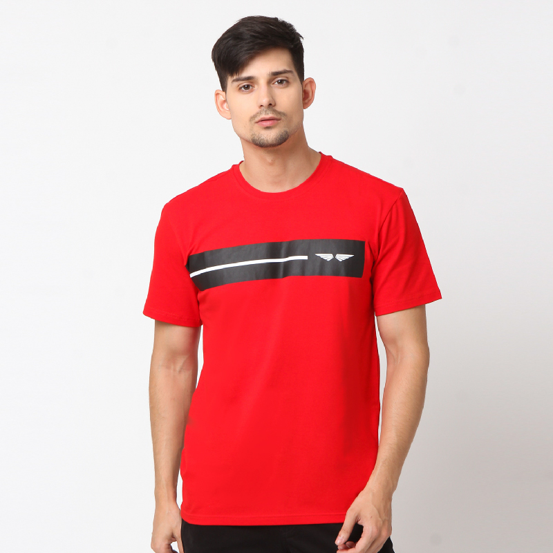 RBJ Tshirt Pria 255770291 Merah