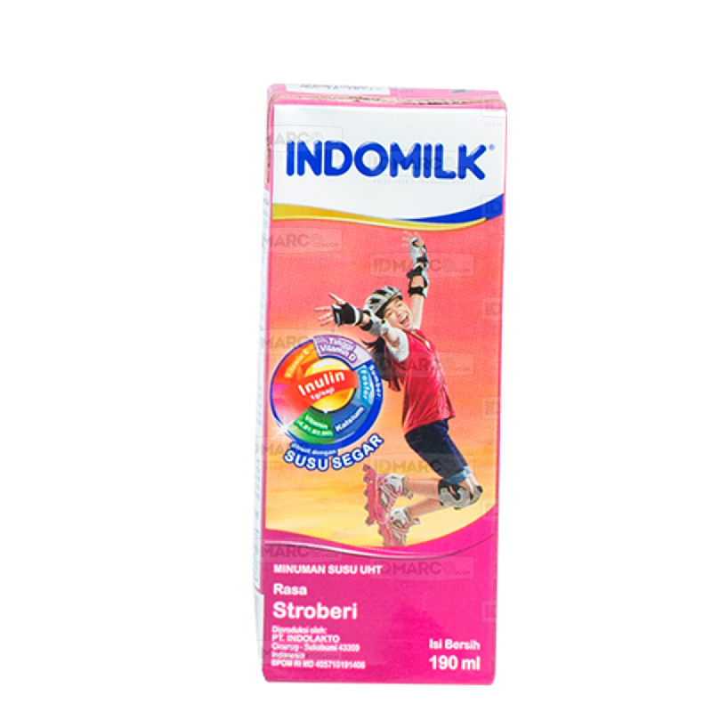 Indomilk UHT Stroberi 190 ml