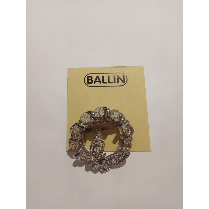 Ballin Women Brooch NM-BR030015-A4.S Silver