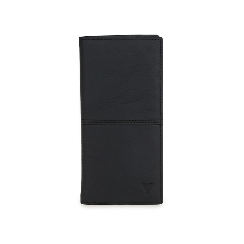 ATVERSO Leather Ladies Wallet Black