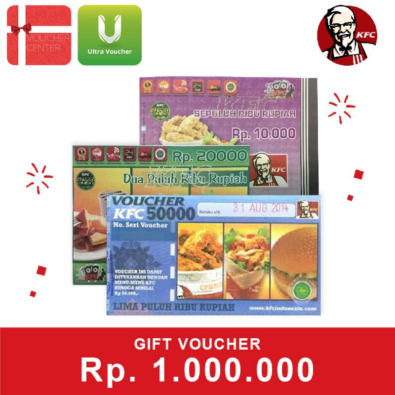 KFC Voucher Senilai Rp 1.000.000