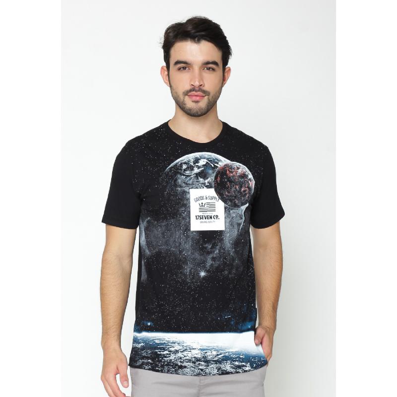 17Seven Tees Spacegood Black