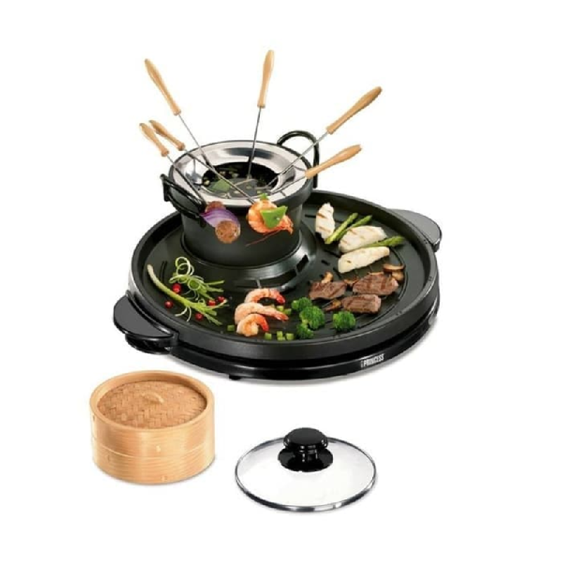 Princess Classic Grill Founde & Steamer 162290