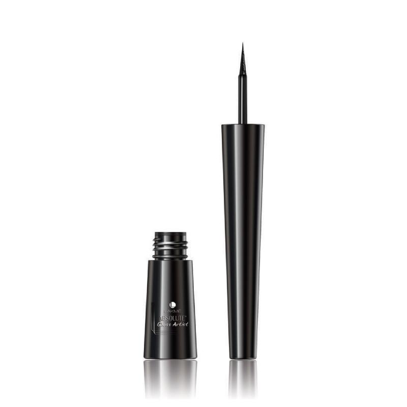 Lakme Absolute Reinvent Gloss Artist Liquid Black Eyeliner