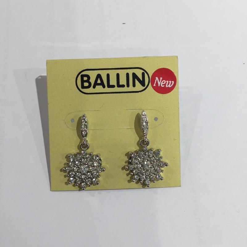 Ballin Women Earing YZ-E9069S Silver