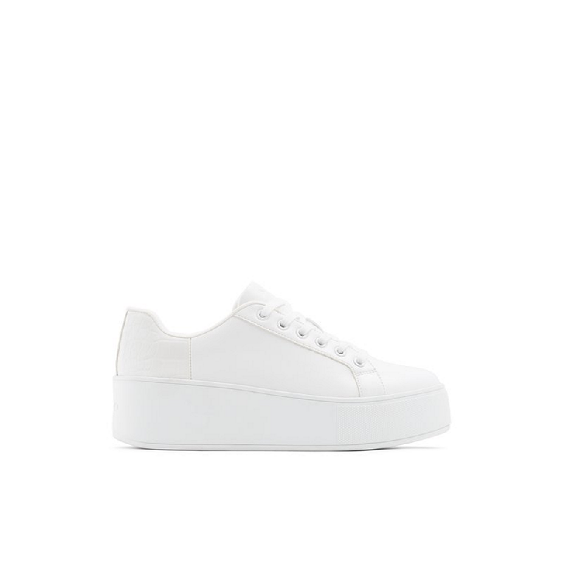 Aldo Ladies Sneakers Legowien 100 White